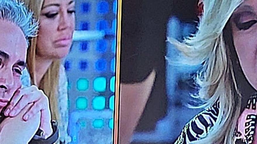 Lydia Lozano estalla contra Kiko Hernández y abandona el plató entre gritos y lloros