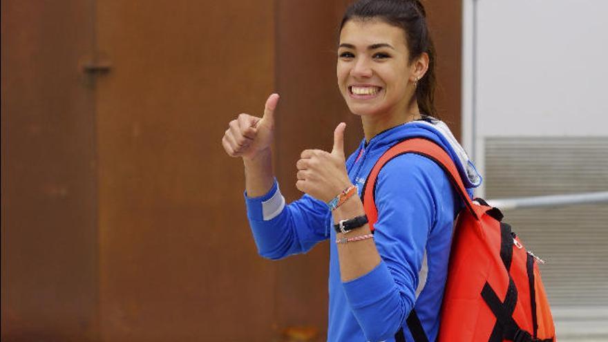 Paola Sarabia, récord de España en heptatlón