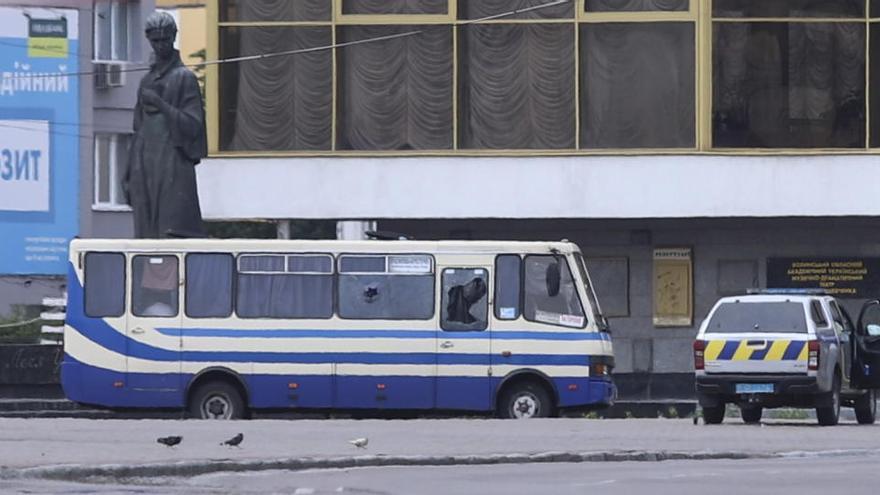 Liberan a todos los rehenes del tenso secuestro en Ucrania