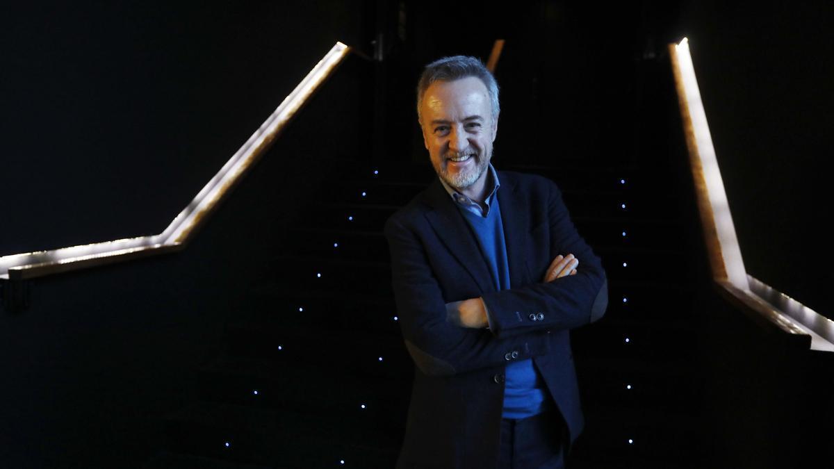 El actor Carlos Hipólito