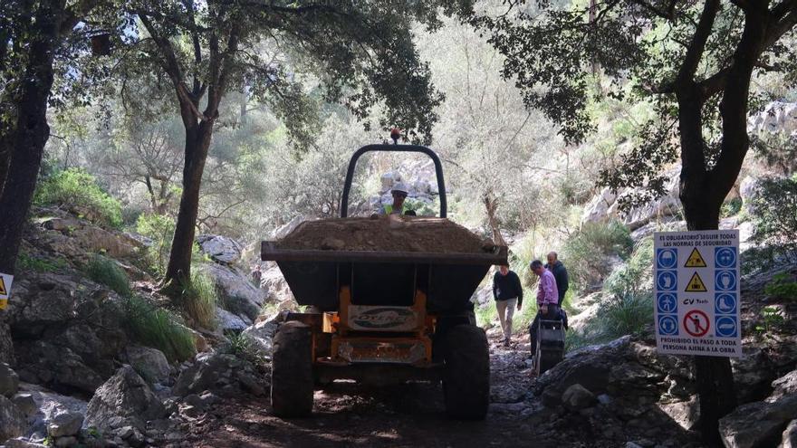 El Govern invierte más de 300.000 euros en recuperar caminos en la Serra