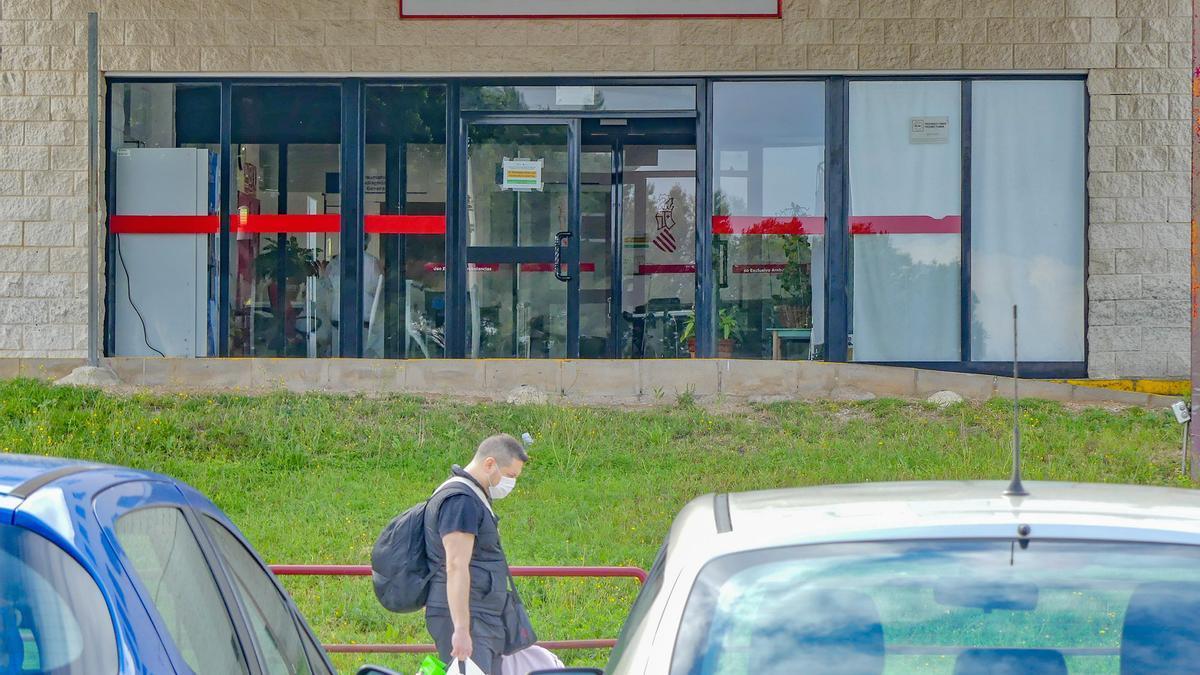 Puerta de Urgencias del Hospital Vega Baja