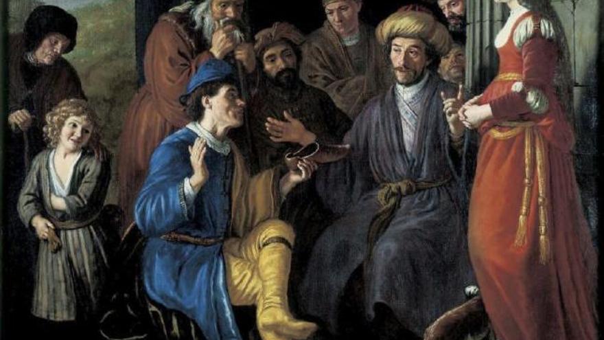 Rasga un cuadro del siglo XVII en el Guggenheim