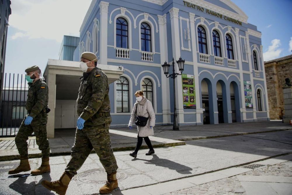 Intervención del ejército en Zamora