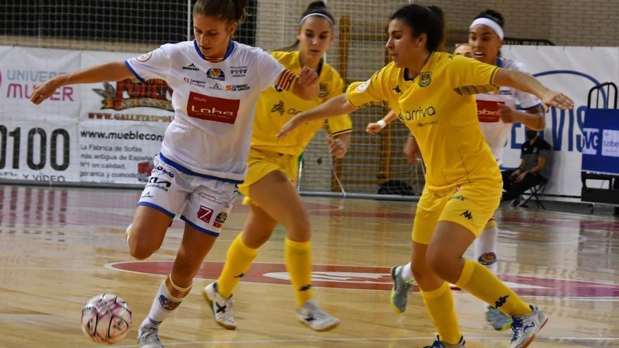 El Sala Zaragoza rescata un punto en un final frenético