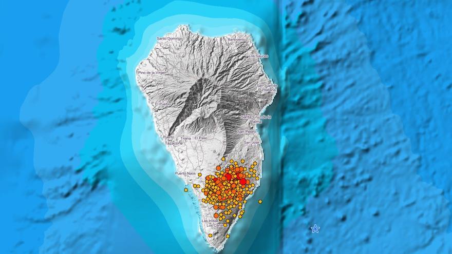 La Palma registra 51 terremotos desde la medianoche