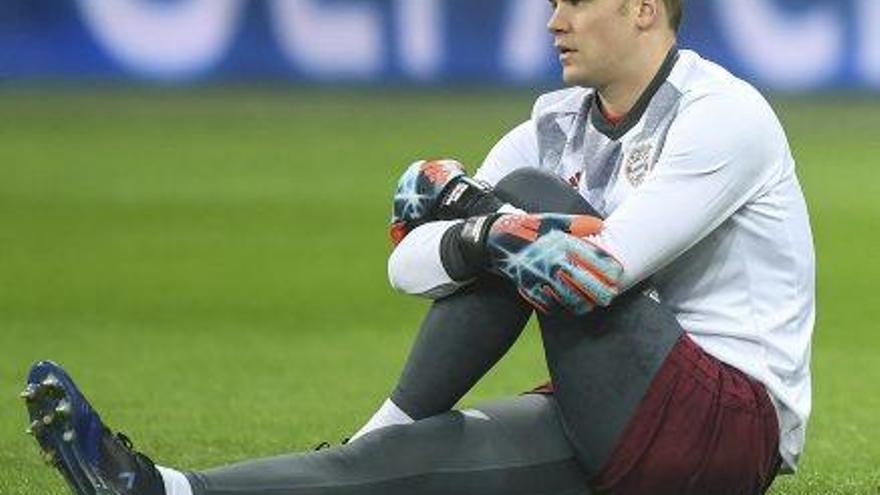 Neuer torna a entrenar-se abans de rebre el Madrid