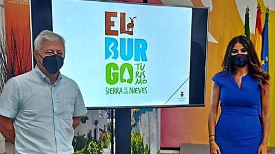 El Burgo presenta el logotipo de su nueva imagen turística