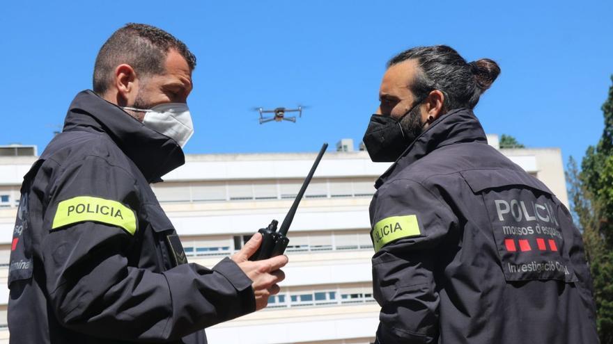 Nova unitat de drons dels Mossos d'Esquadra