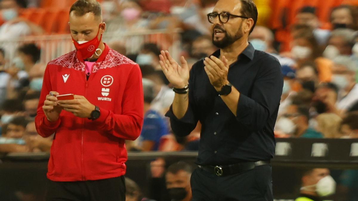 Valencia - Getafe: el estreno de Liga, en imágenes