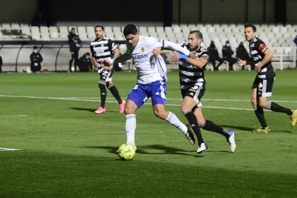 Segunda División: FC Cartagena-Real Zaragoza