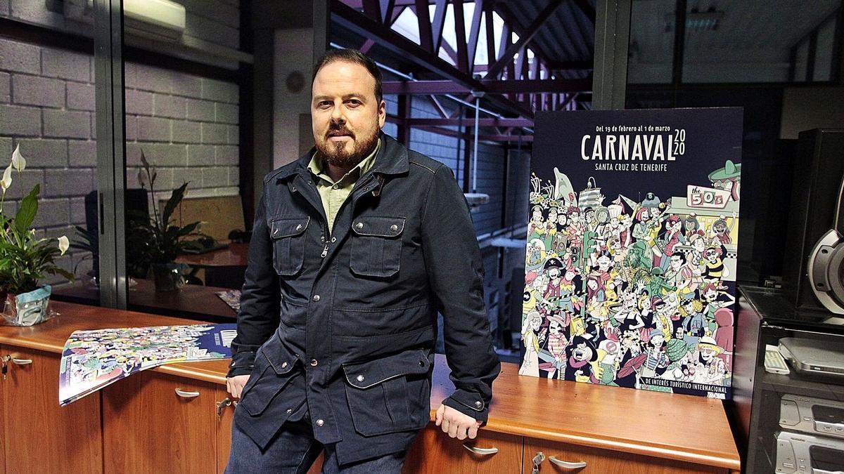 Andrés Martín Casanova, responsable de la organización del pasado Carnaval.