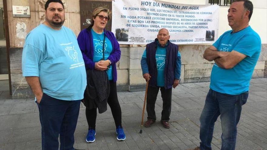 La Federación Córdoba Extrarradio anuncia movilizaciones para reclamar agua potable