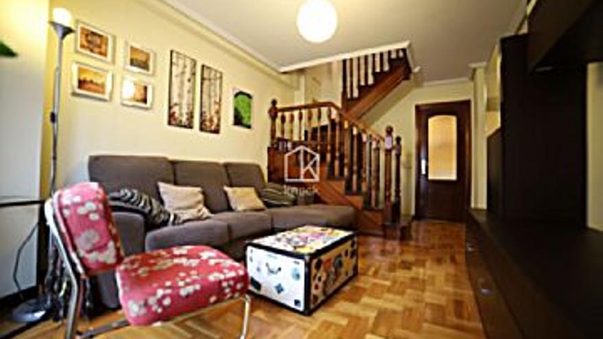 550 € Alquiler de piso en El Llano (Gijón) 50 m2, 1 habitación, 2 baños, 11 €/m2, 3 Planta...