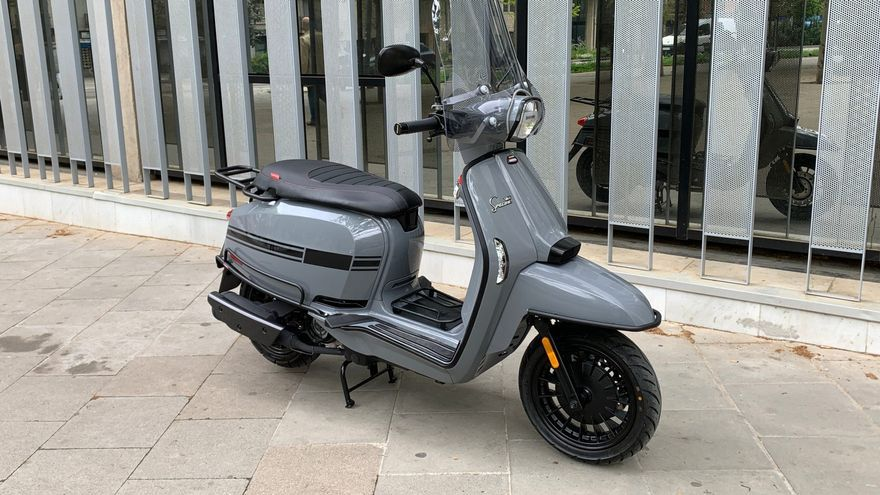 Lambretta V-Special, estilo para la ciudad