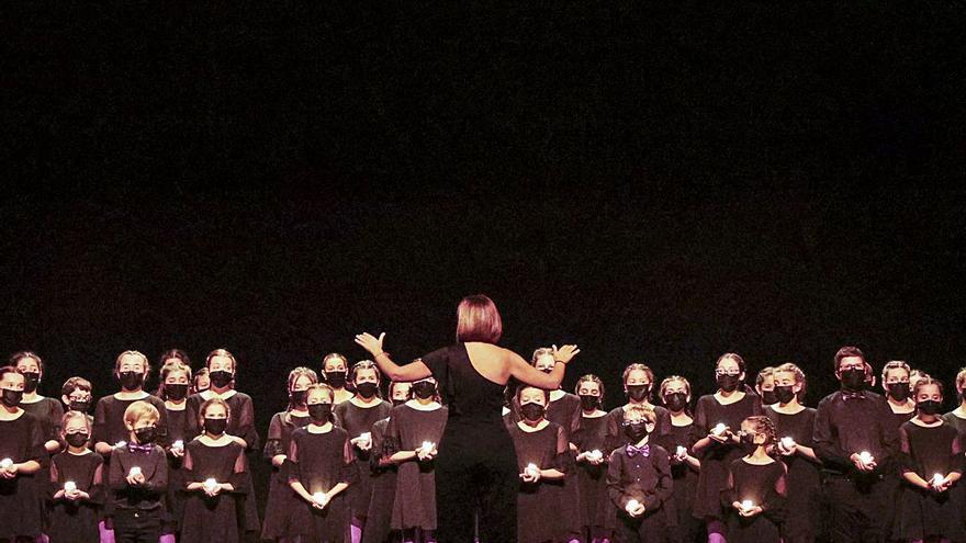 Los Peques LDO celebran mil años de música coral