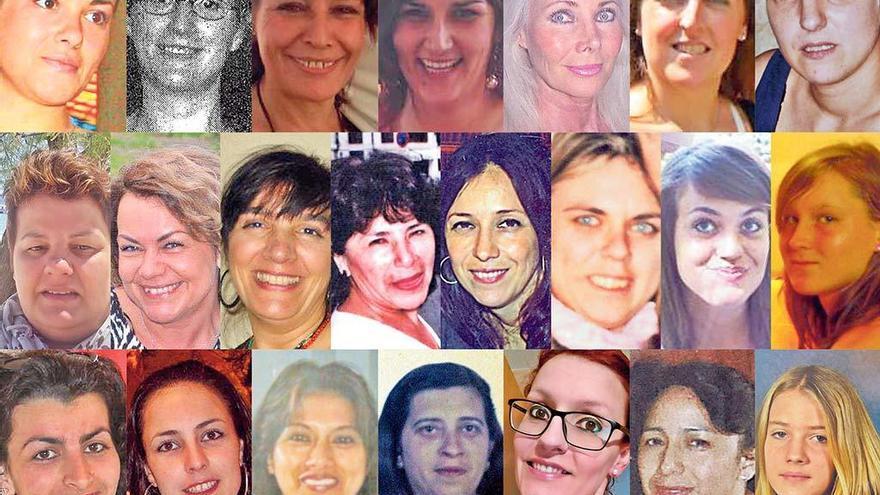 Feminicidios en Mallorca