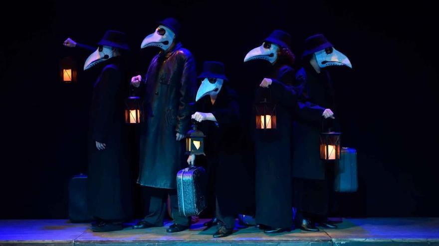 Tranvía Teatro propone un viaje a la felicidad en Sala Guirigai