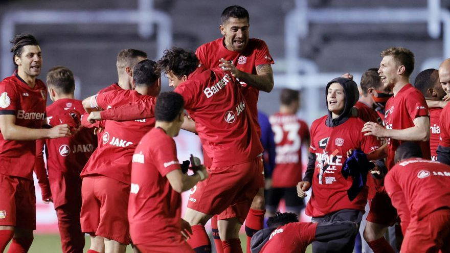 El Bayer Leverkusen se mete en la final de la Copa alemana