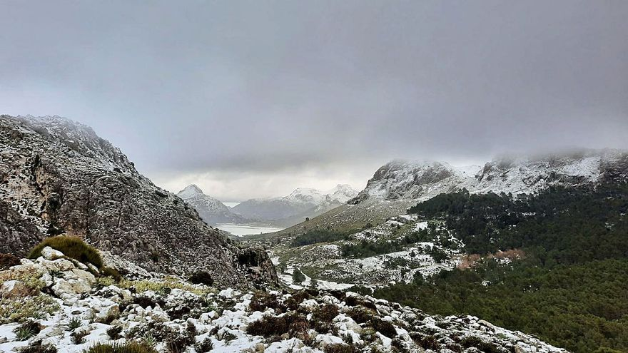 El tiempo en Mallorca: Fin de semana de lluvias, tormentas, frío intenso y temporal marítimo