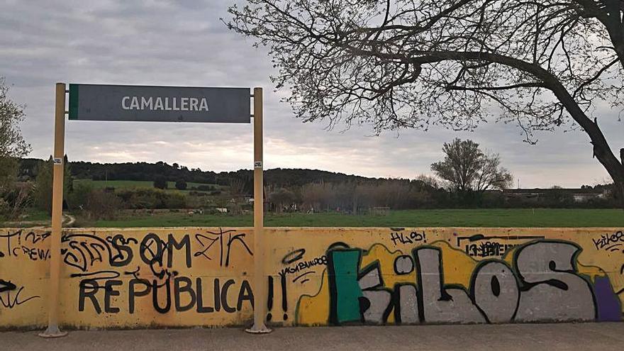 L'Ajuntament de Camallera vol que Adif potenciï l'estació