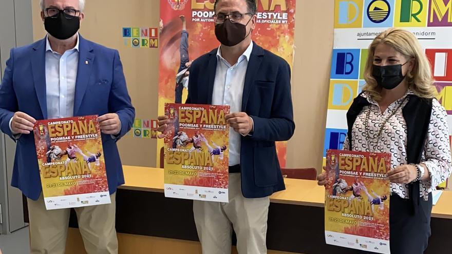 Benidorm acoge el Campeonato de España de Taekwondo este fin de semana