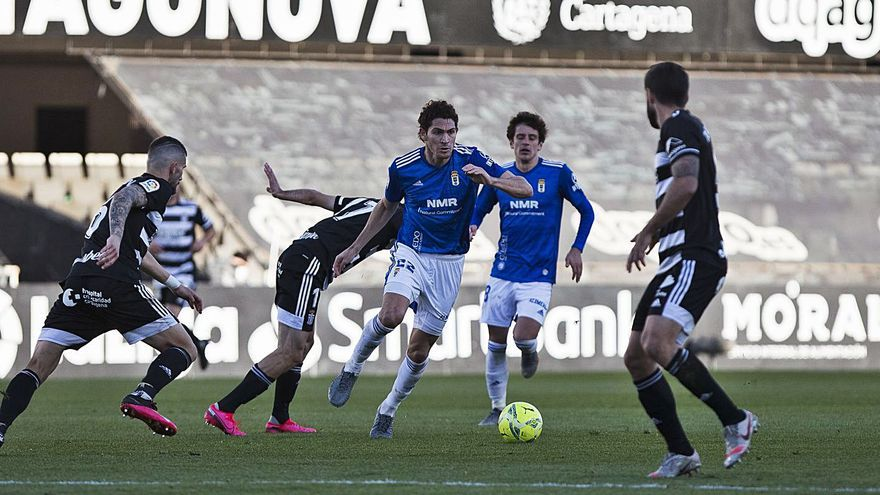 El Real Oviedo recibe su séptimo gol de córner
