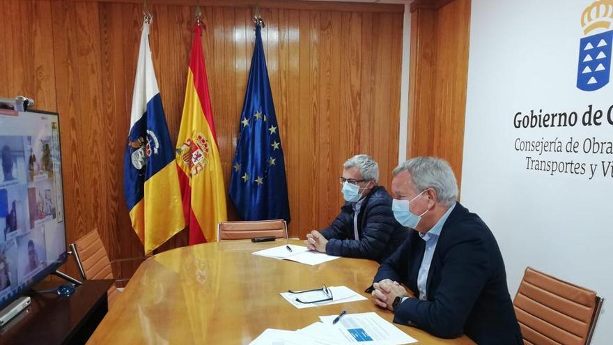 Franquis se reúne con los cabildos para coordinar los proyectos de transportes que opten a los fondos europeos