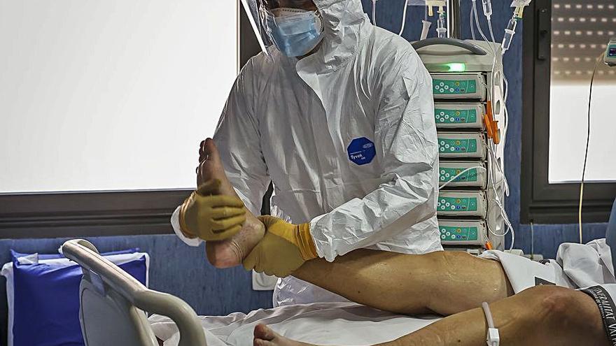 Diez pacientes ingresados por covid en los hospitales de Alicante desde el viernes