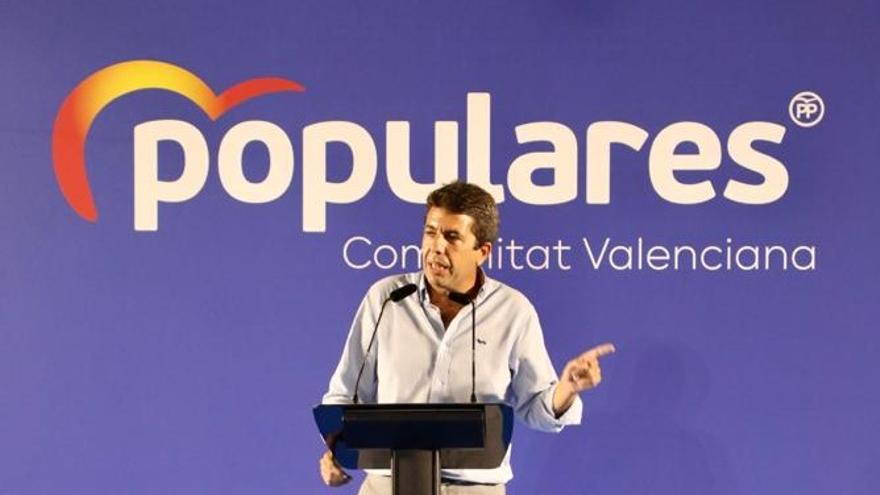 """Mazón afirma que """" ha llegado el momento de la Comunidad Valenciana"""" y que """"el cambio es imparable"""""""