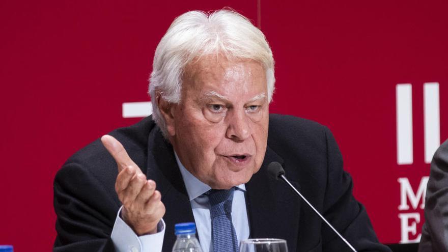 "Felipe González: ""Una republiqueta destruirá España"""