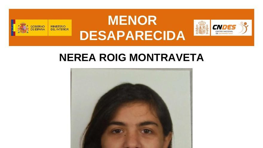 Buscan a una menor desaparecida en Alzira desde ayer por la tarde