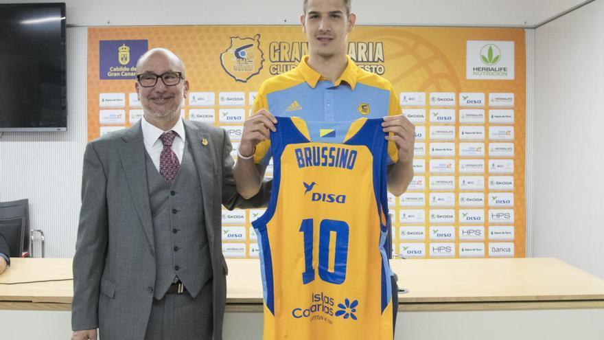 """Brussino: """"Me defino como un jugador de equipo"""""""