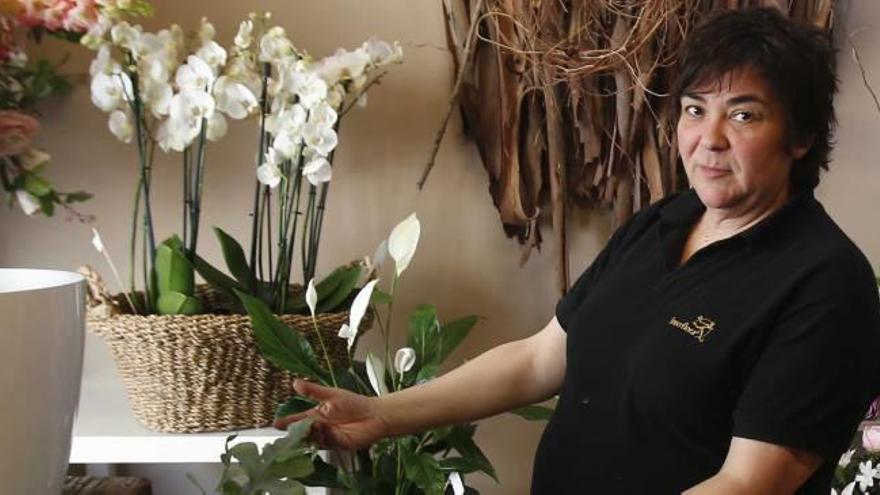 Una florista carletina en la copa del mundo