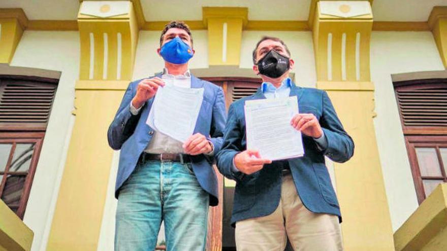CC y PP registran la moción de censura contra la socialista Patricia Hernández