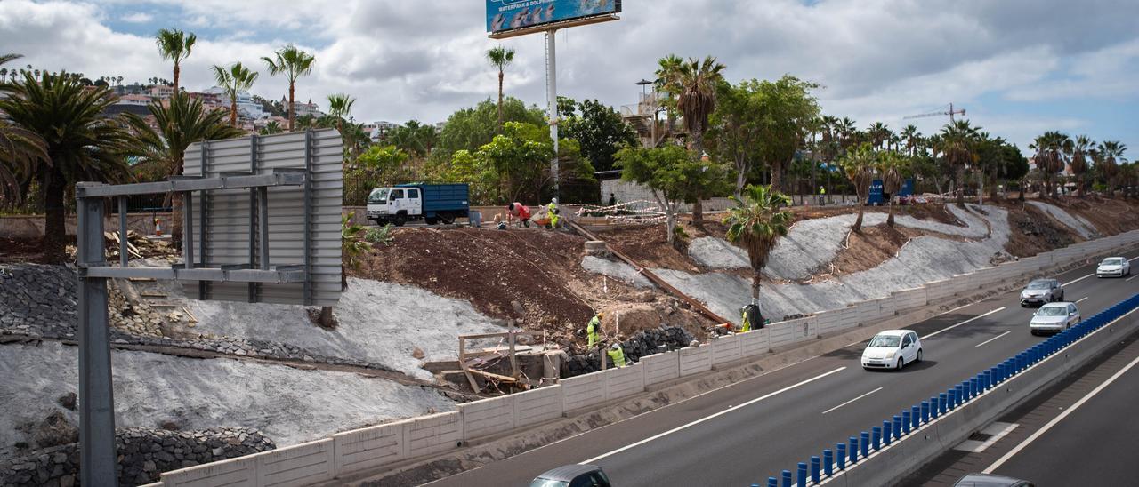 Mejora paisajística autopista del Sur