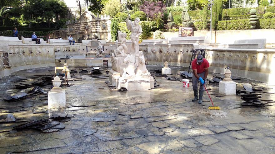 El Ayuntamiento de Priego interviene de nuevo en la Fuente del Rey