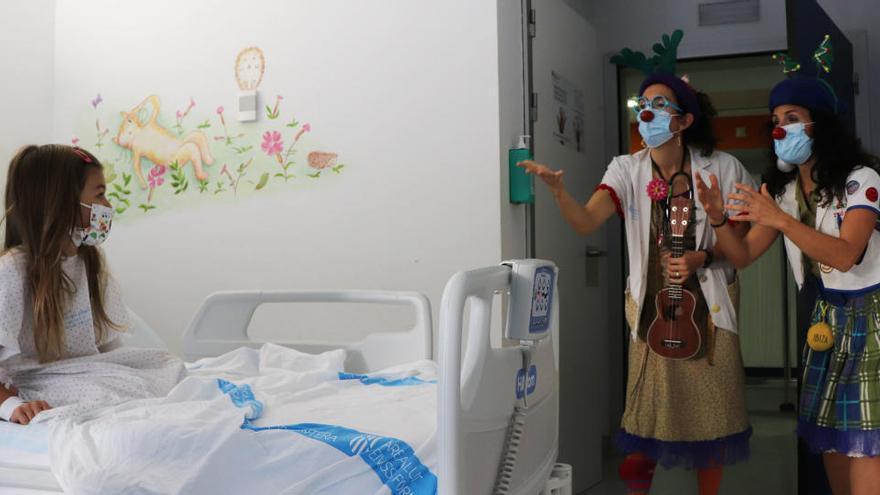 Las payasas de Sonrisa Médica regresan a Can Misses