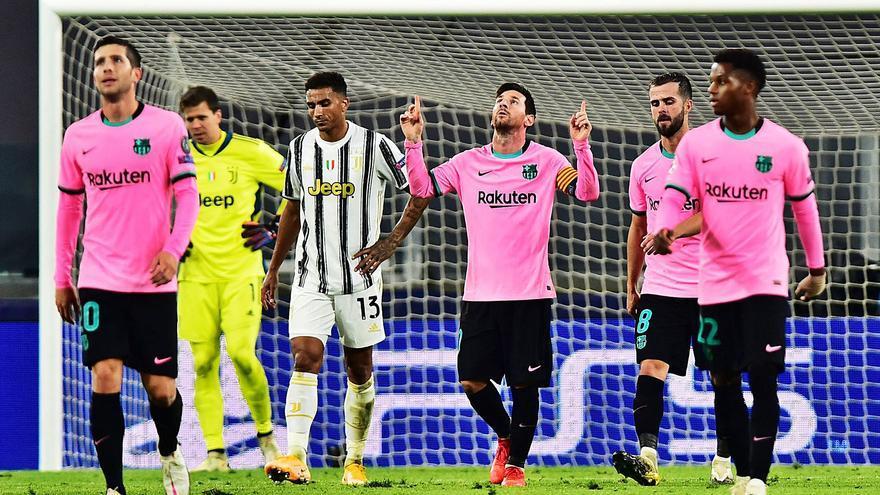 Leo Messi manda en Turín