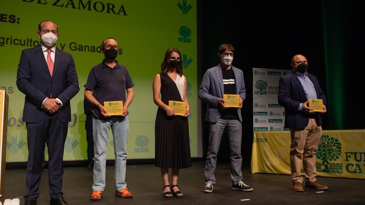 Entrega de premios de la Fundación Científica Caja Rural de Zamora.
