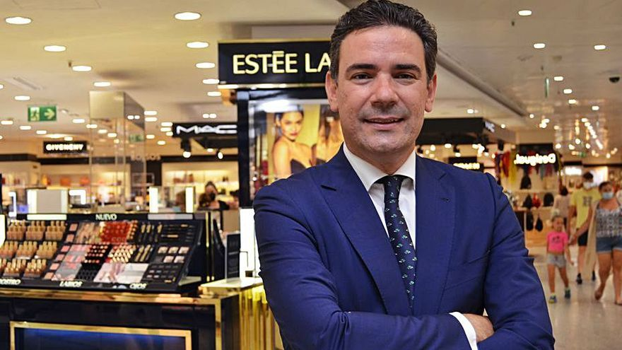 Alfredo Carvajal, nuevo director de El Corte Inglés en Alicante