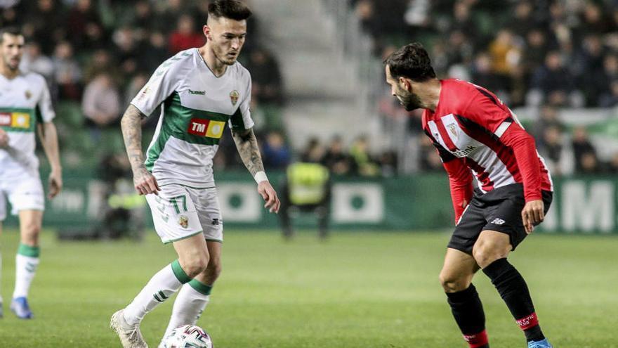 El Elche cae en los penaltis ante el Athletic Club en la Copa del Rey