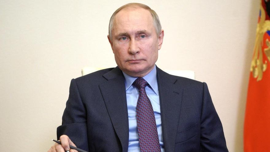 Putin se vacuna contra el coronavirus