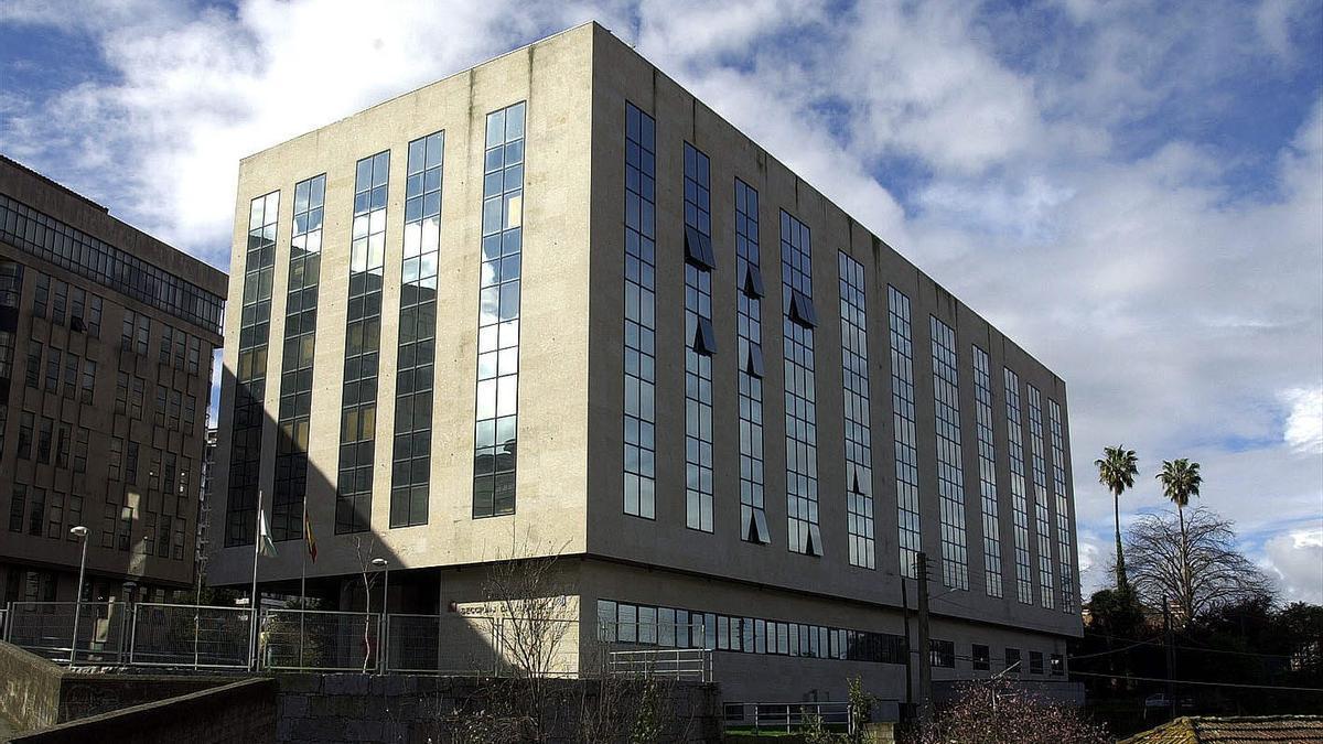 Edificio de la Audiencia de Vigo, donde se ubican los juzgados penales.