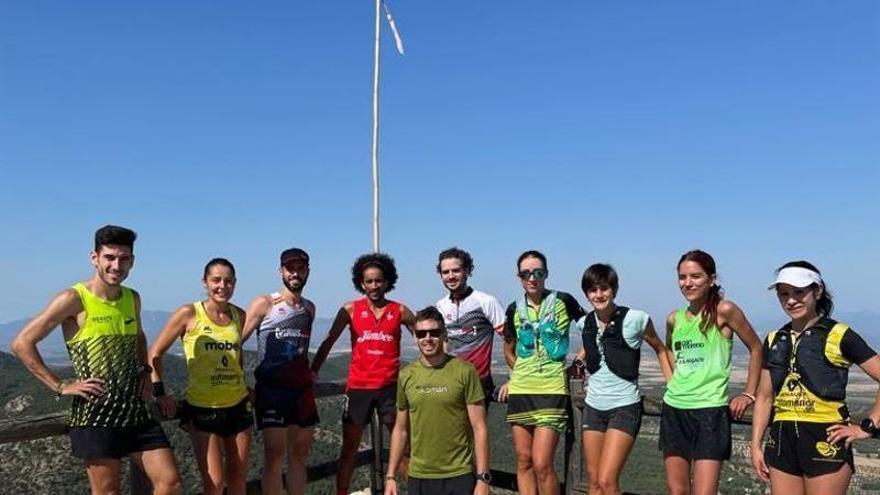 La selección murciana disputa este fin de semana el Nacional de trail running