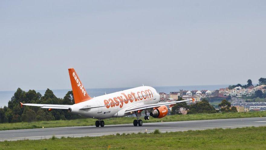 Desviado a Galicia un vuelo cuando estaba próximo a aterrizar en Oporto