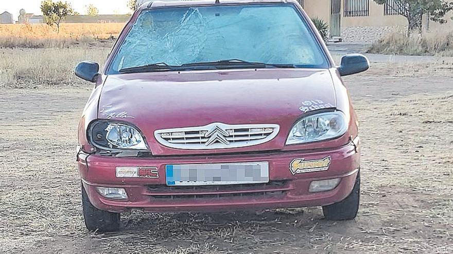 Hospitalizada una mujer atropolleda en Manganeses de la Lampreana