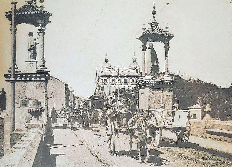 Los cinco viejos puentes de la época foral