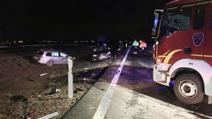 Investigan si un conductor drogado mató a los dos hombres de la AP-7