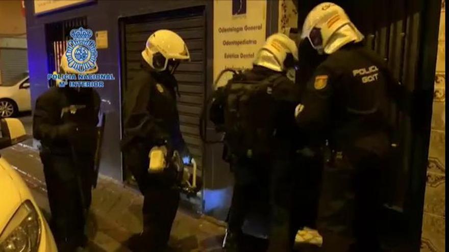 La policía desarticula la banda que perpetró un robo millonario en la 'Milla de Oro' de Madrid